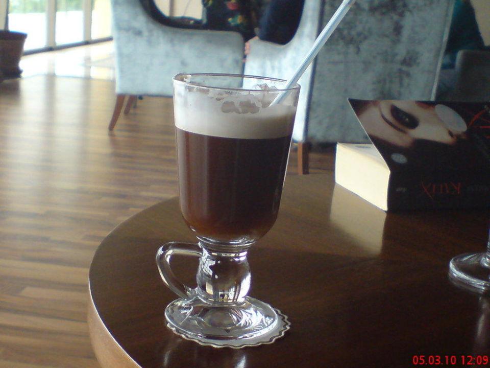 Airich Kaffee in der Lobby Aydinbey Kings Palace & Spa