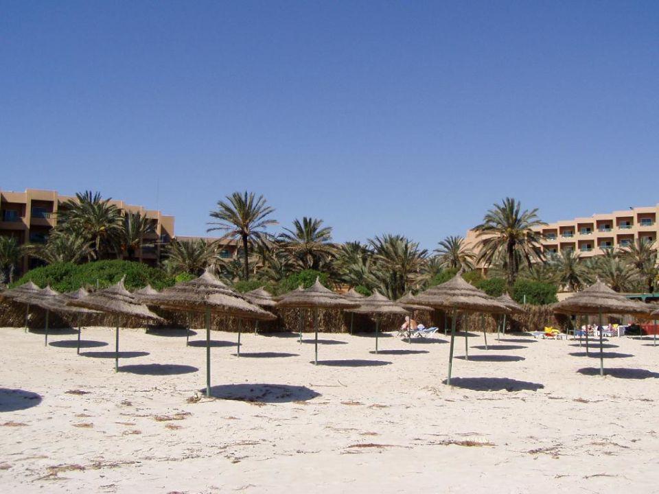 Hotel Karthago El Ksar vom Strand Hotel  El Ksar Resort & Thalasso