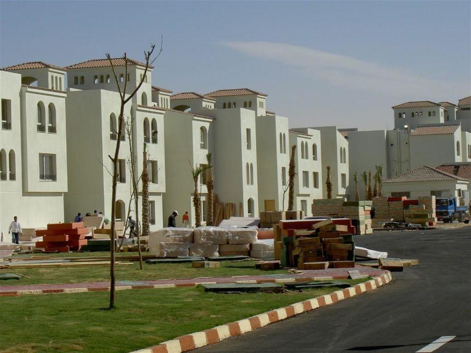 Gebäudekomplex links Dana Beach Resort