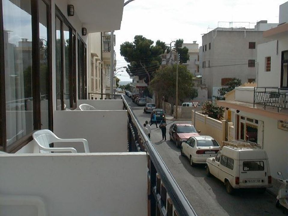 Blick Vom Balkon Hostal Alfonso Cala Ratjada Holidaycheck