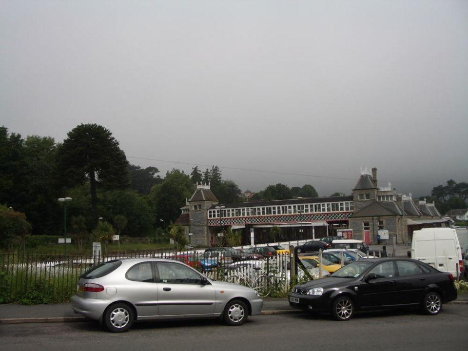 Der Bahnhof von Torquay Grand Hotel
