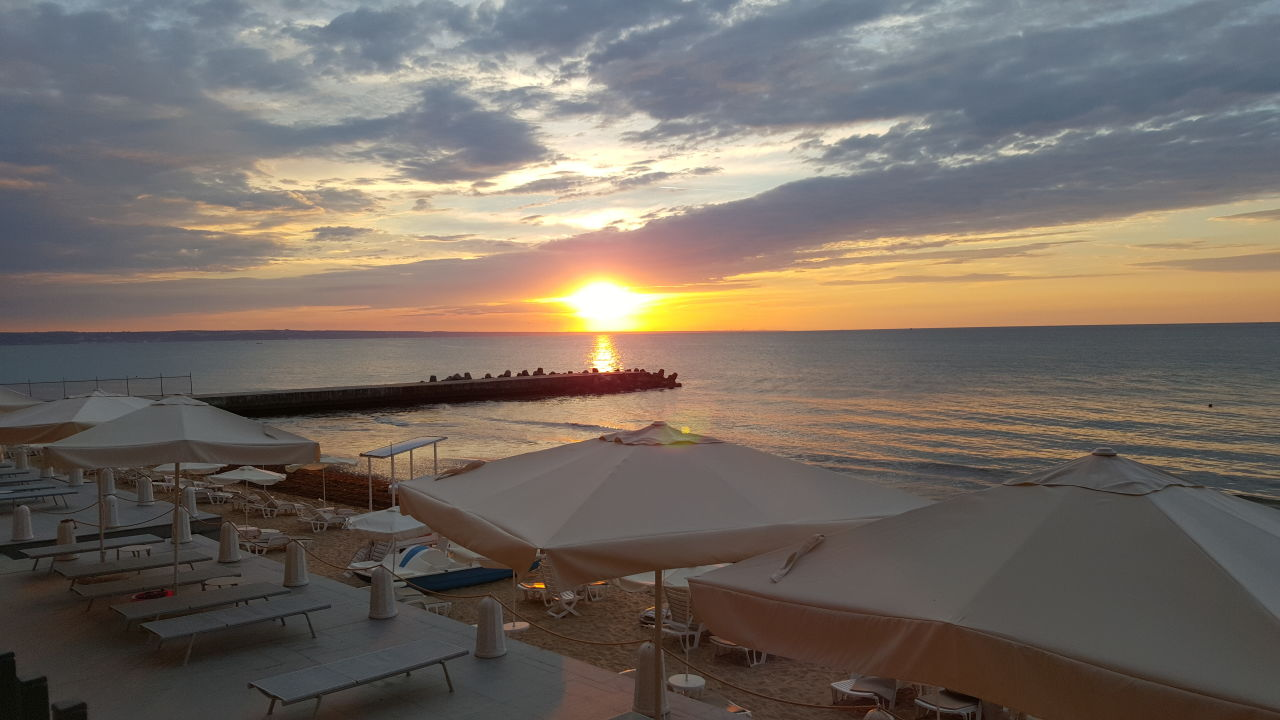 Ausblick Hotel Nympha Beach