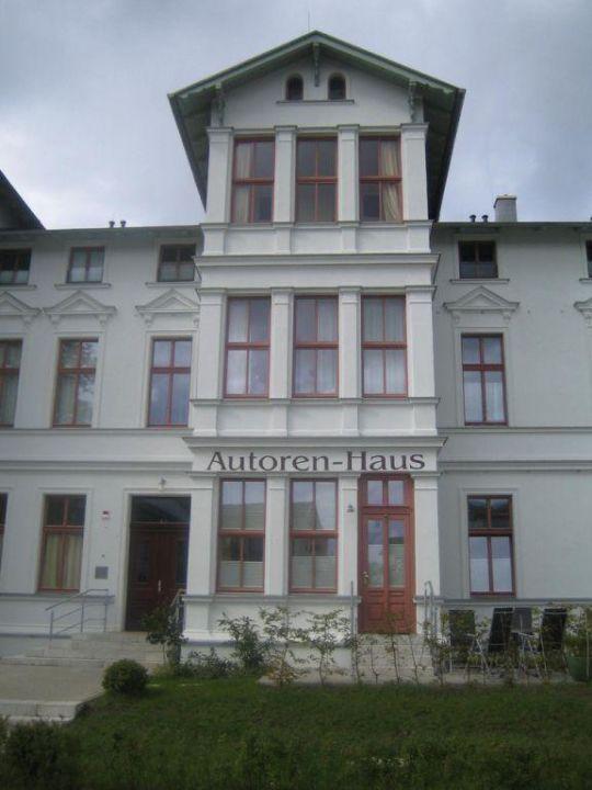 Eingang Autorenhaus - Ferienwohnung 16