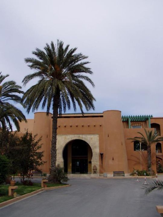 Hotel Karthago El Ksar Eingang Hotel  El Ksar Resort & Thalasso
