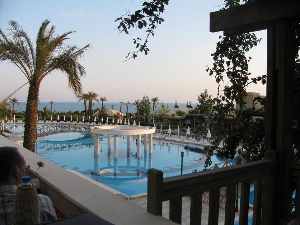 Ausblick vom Abendbrot China Restaurant Trendy Aspendos Beach Hotel