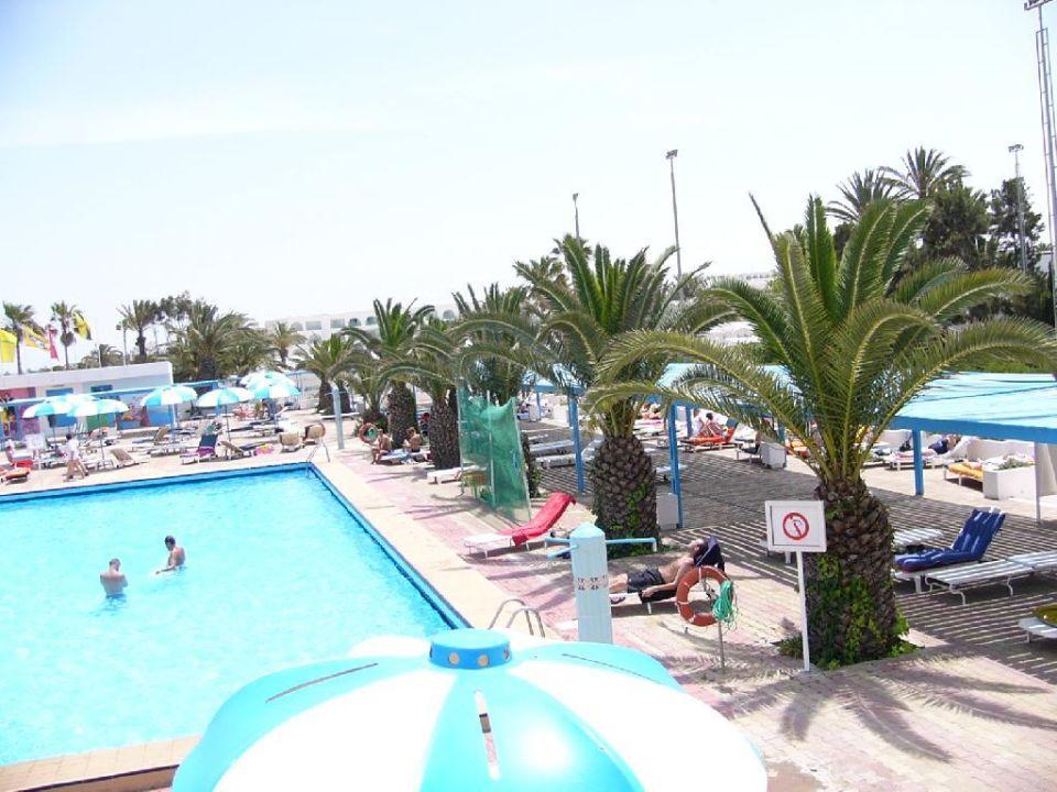 Der kleine Pool El Mouradi Club Selima
