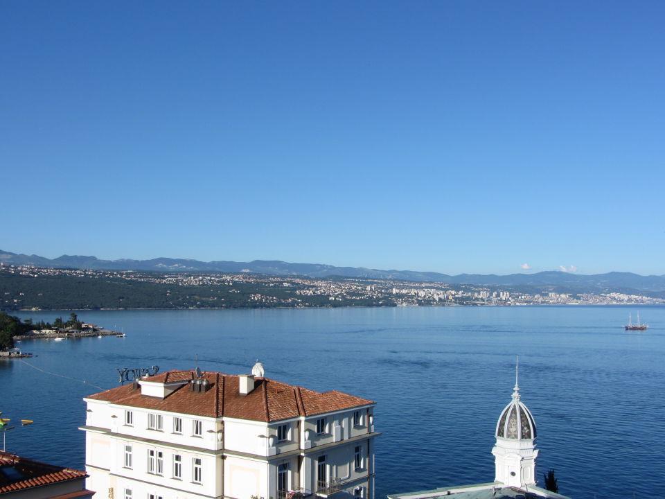 Ausblick vom Balkon Hotel Astoria by OHM Group