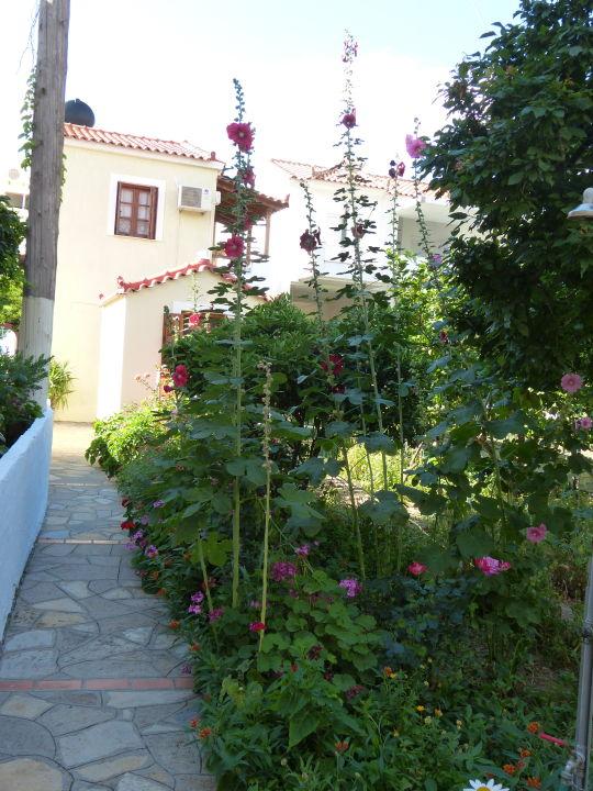 Gartenanlage Hotel Maria