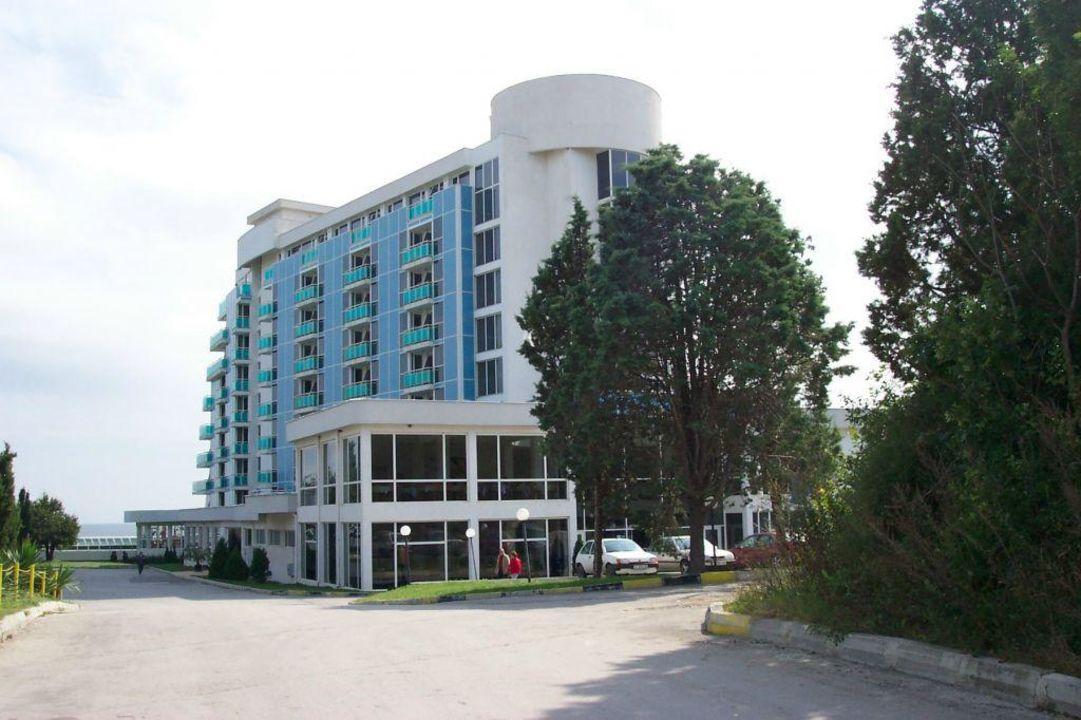 Rückseite Hotel Roubin