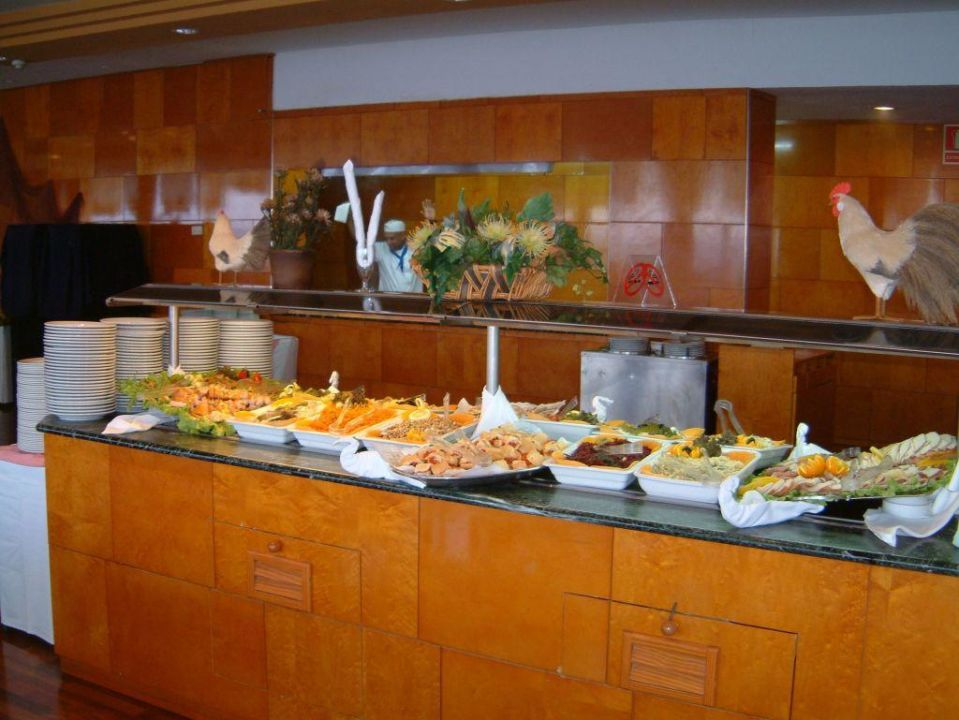 Salatbuffet Hotel Best Semiramis