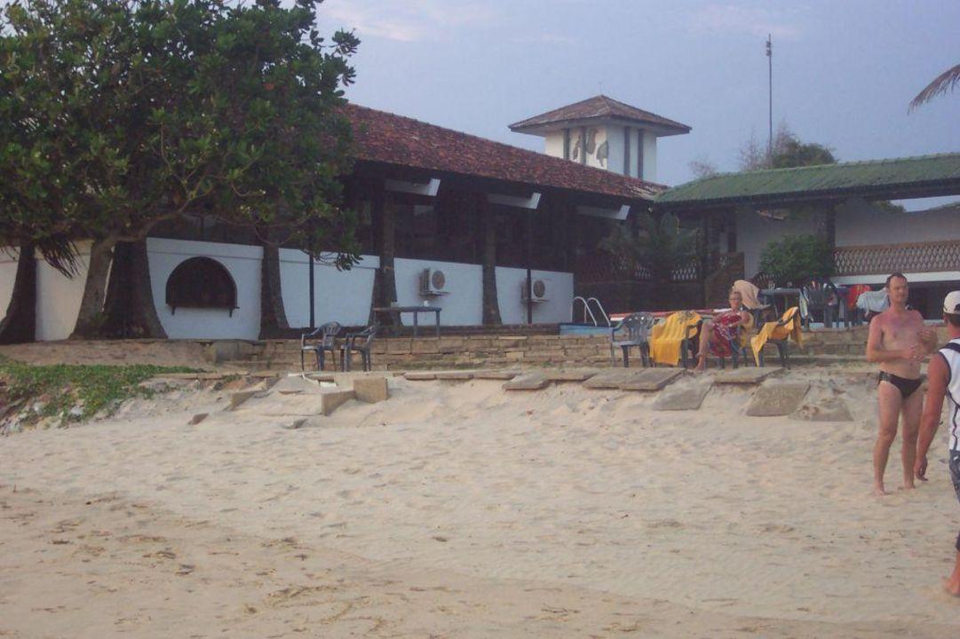 Poolbereich Hotel Koggala Beach