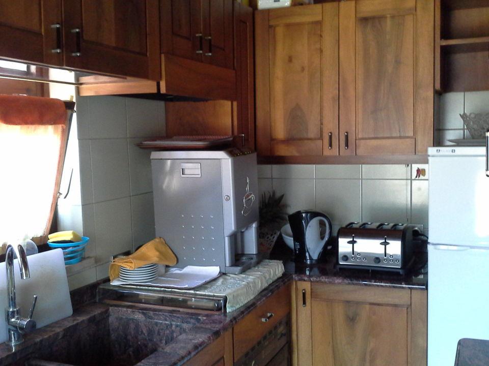 Küche beim Frühstücksraum\