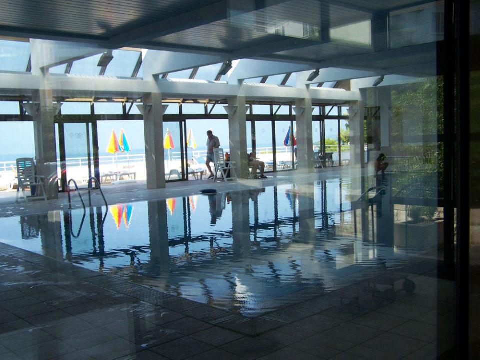 Schwimmhalle mit Dachterrasse Hotel Minerva  (Vorgänger-Hotel – existiert nicht mehr)