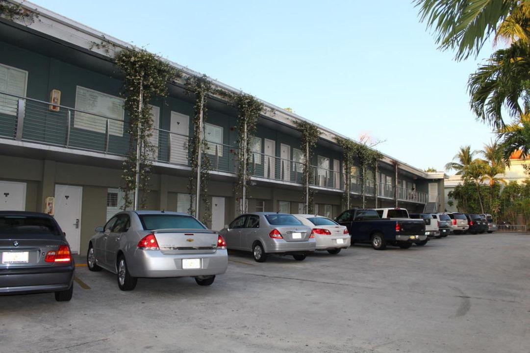 Außenansicht Motel Blue Marlin