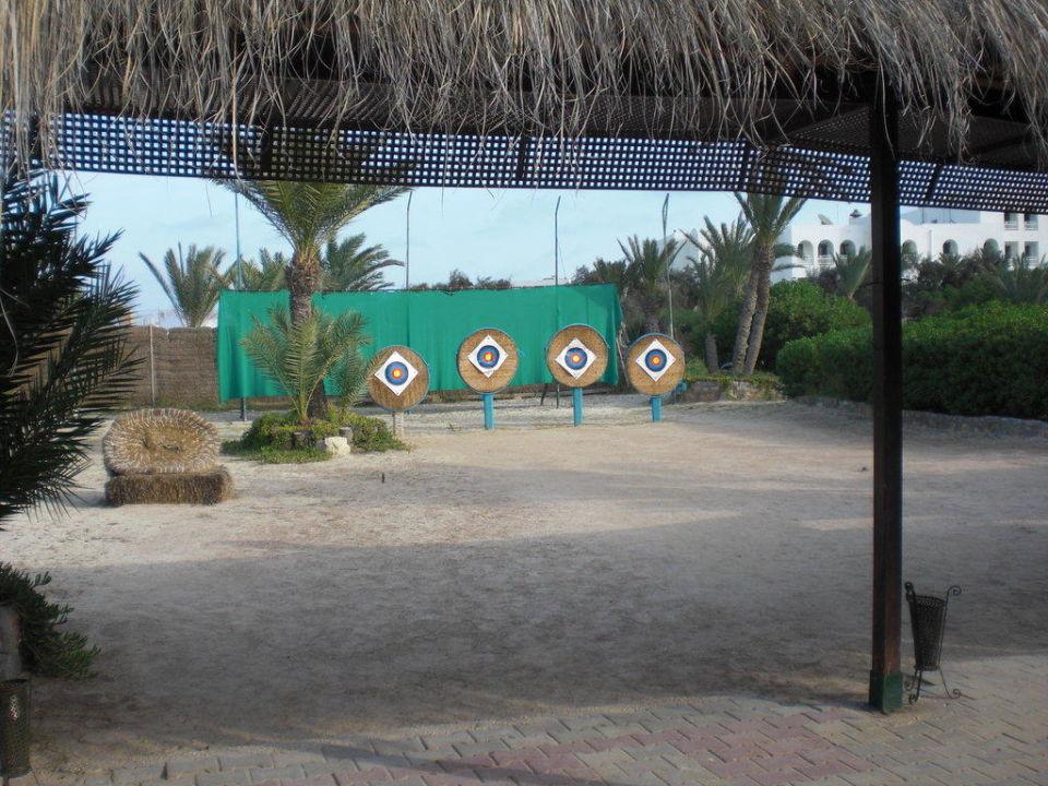 Bogenschießanlage Hotel Seabel Rym Beach Djerba