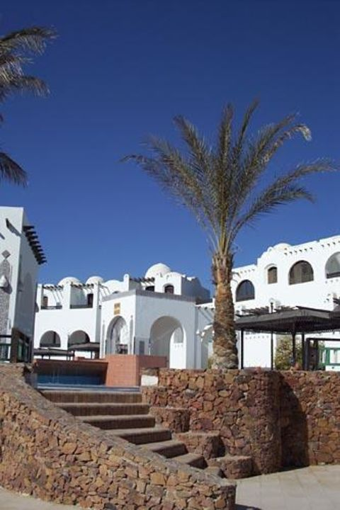 Der Aufgang zum Süßwasserpool Iberotel Arabella Arabella Azur Resort