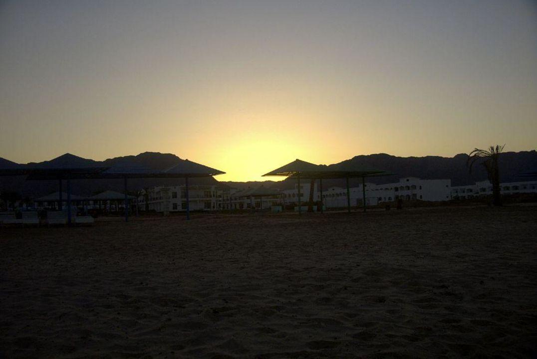 Abendstimmung am Strand des Regina Hotel Regina Nuweiba Resort