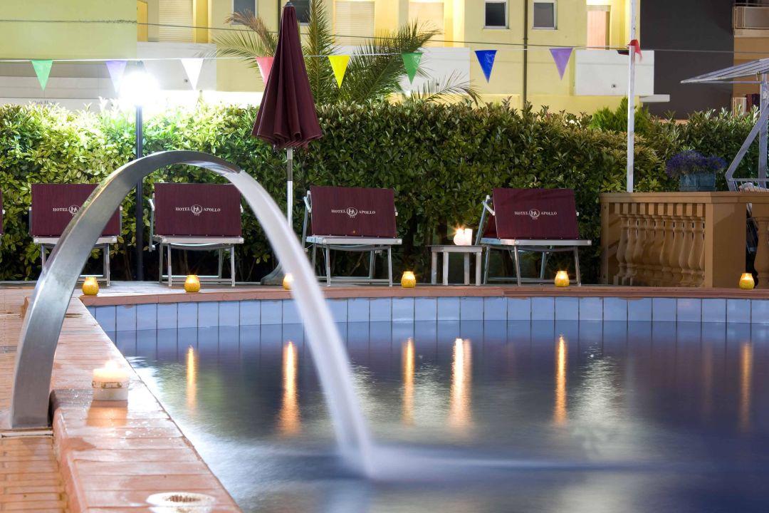 Particolare della piscina Hotel Apollo