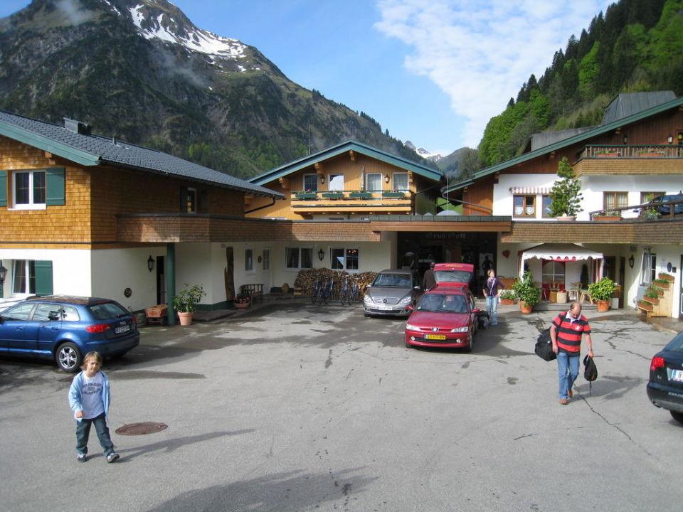 Eingang Hotel Rosenhof Der Kleinwalsertaler Rosenhof