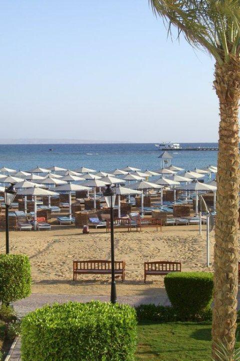 Ein Teil des Strands Dana Beach Resort