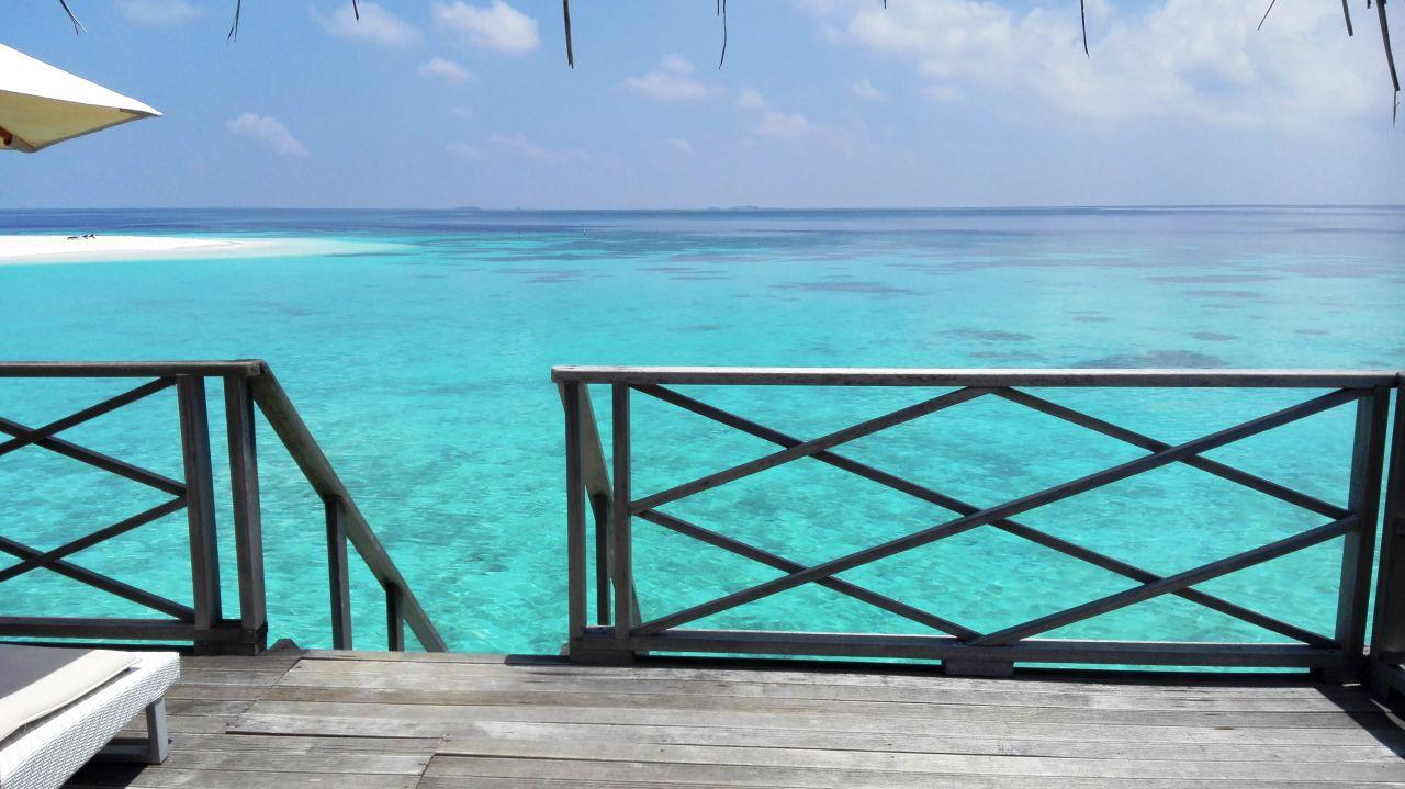 Ausblick Angaga Island Resort