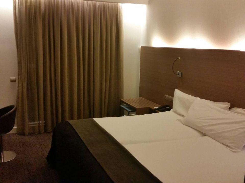 Doppelzimmer Hotel Silken Zentro