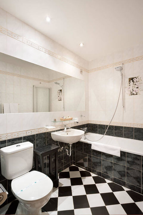 Bathroom Double Room Hotel U Zlateho Stromu