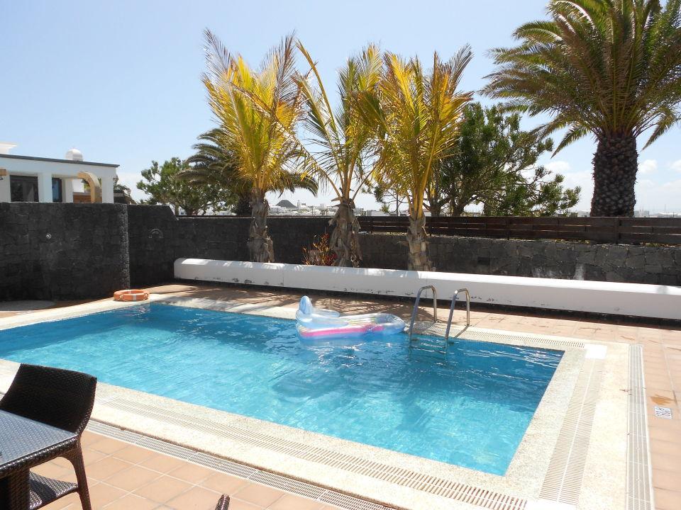 Bild Toller Pool Zu Villa Mamma Mia In Playa Blanca