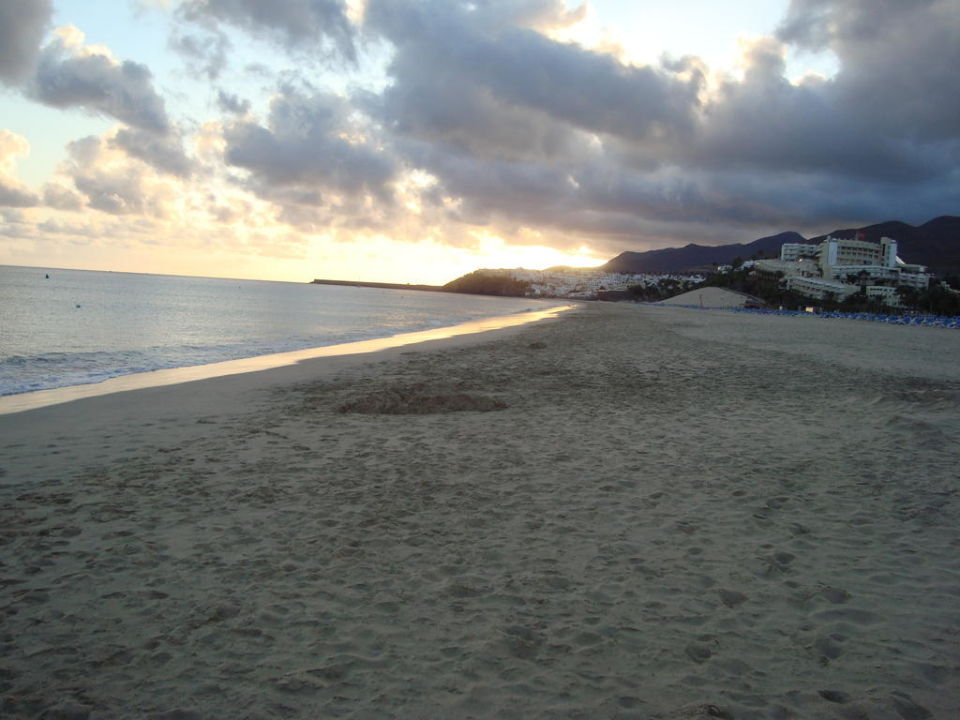 Strandspaziergang am Abend Sol Fuerteventura Jandia