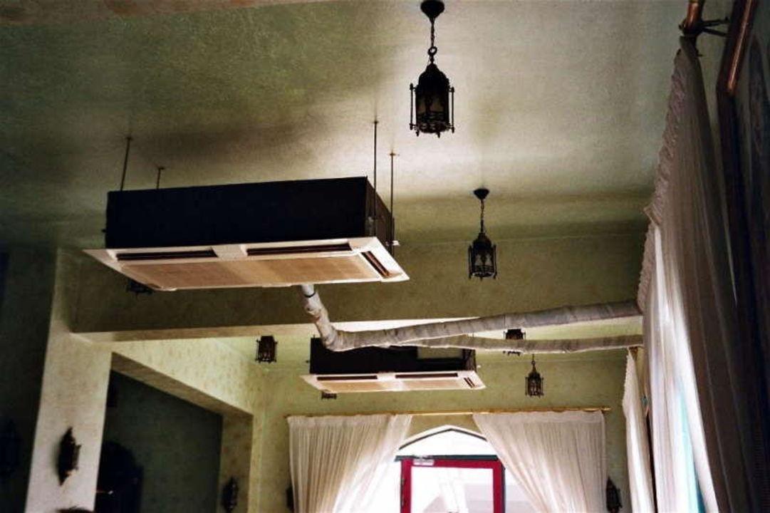 Hotel Fantasia 1001 Nacht - Klimaanlage im Speisesaal Alf Leila Wa Leila