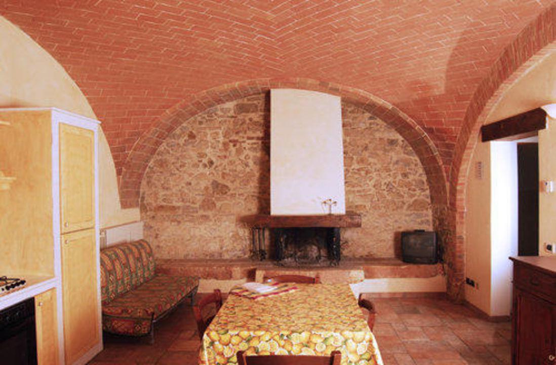 Soggiorno Appartamento 6 Hotel Borgo Mulignone
