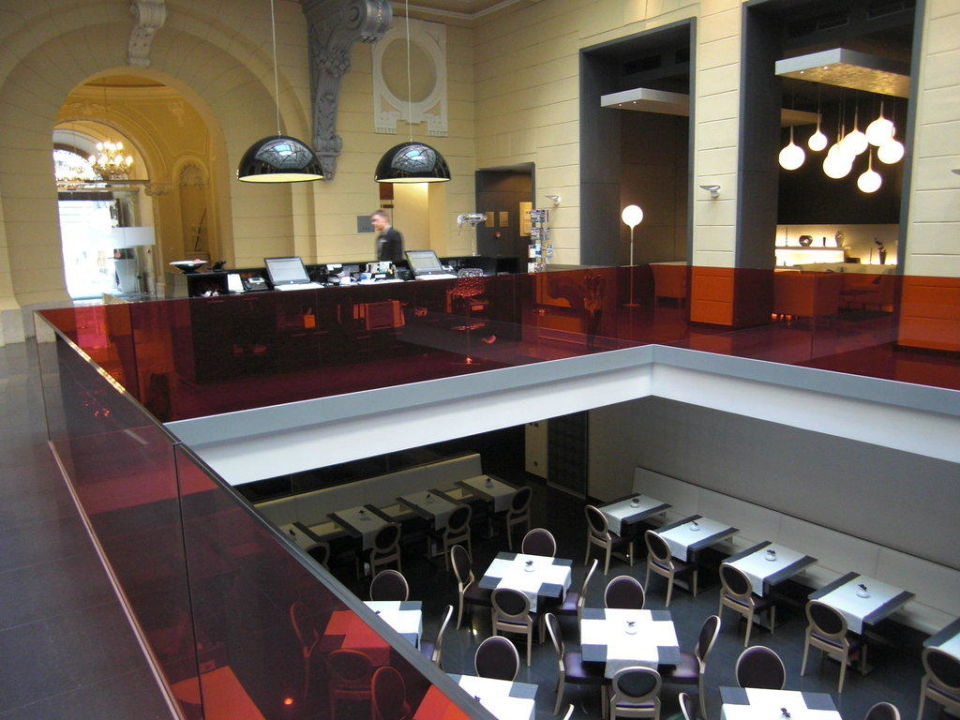 Lobby/Frühstücksraum Hotel Palazzo Zichy