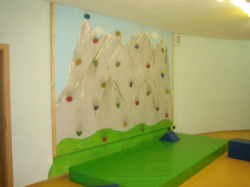 Kletterwand für Kinder\