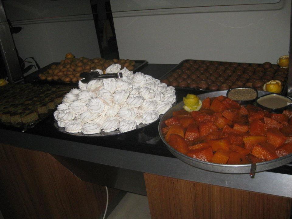 Dessert am Abend Hotel Gardenia Beach