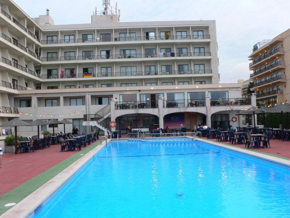Pool allsun Hotel Lux de Mar
