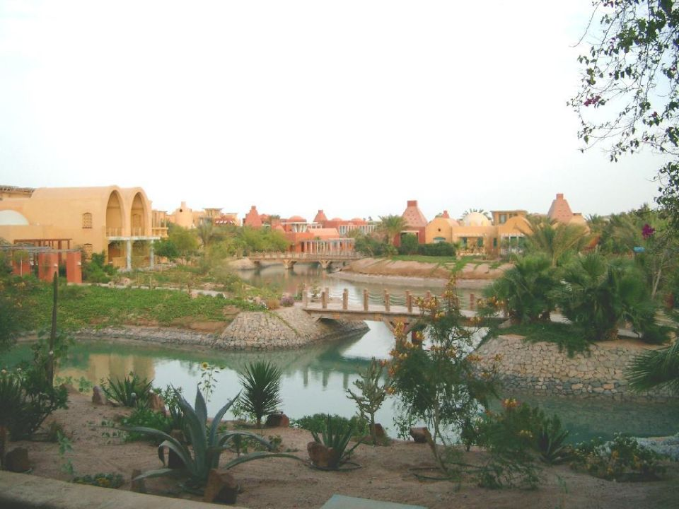 Blick über die Hotelanlage Hotel Sheraton Miramar Resort