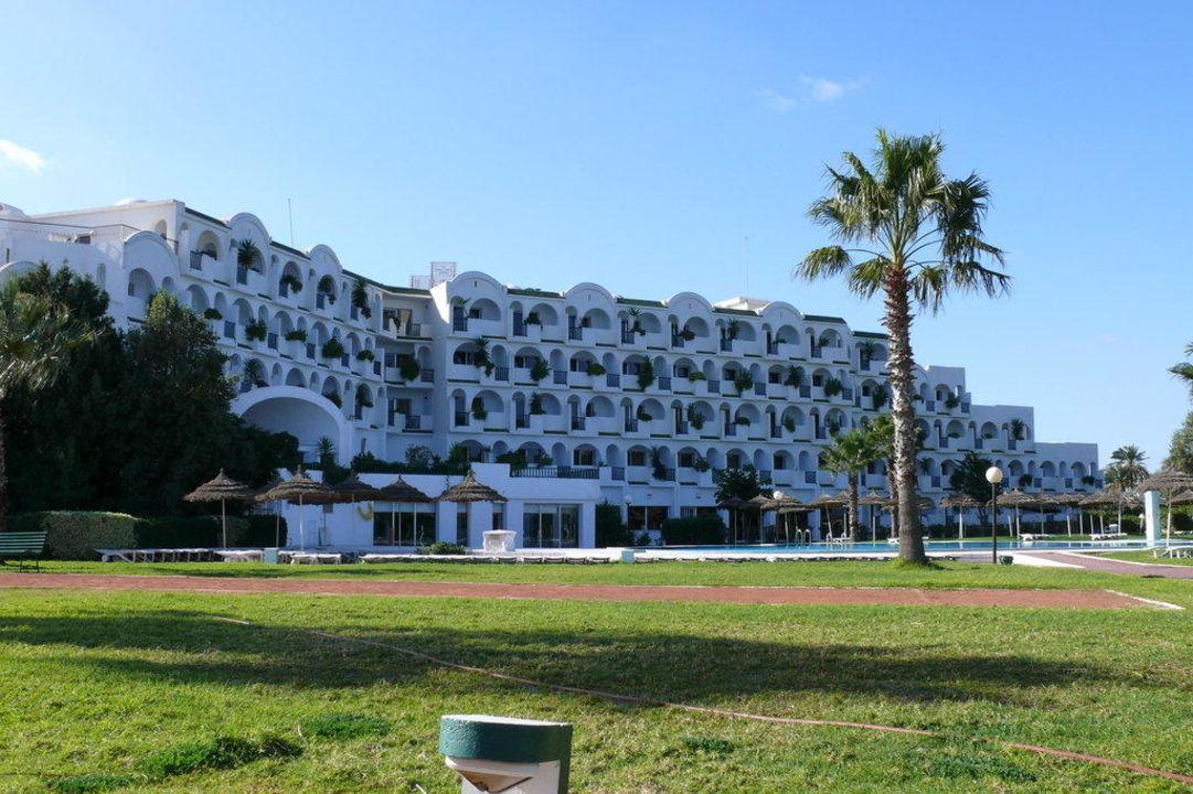 Hotelrückseite (Meerseite) Hotel Green Park  (Vorgänger-Hotel – existiert nicht mehr)