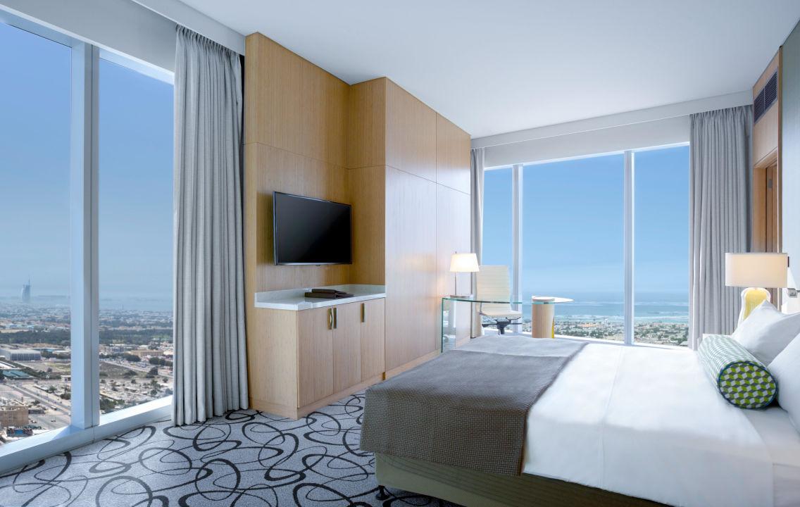 Prestige Suite Bedroom Sofitel Hotel Dubai Downtown
