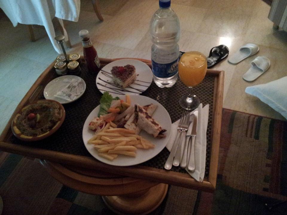 Nice food from room service Mövenpick Hotel Cairo Media City