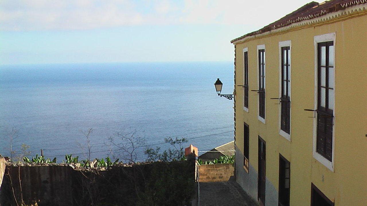 Ausblick vom Appartement Casa Rural Los Helechos Apartments
