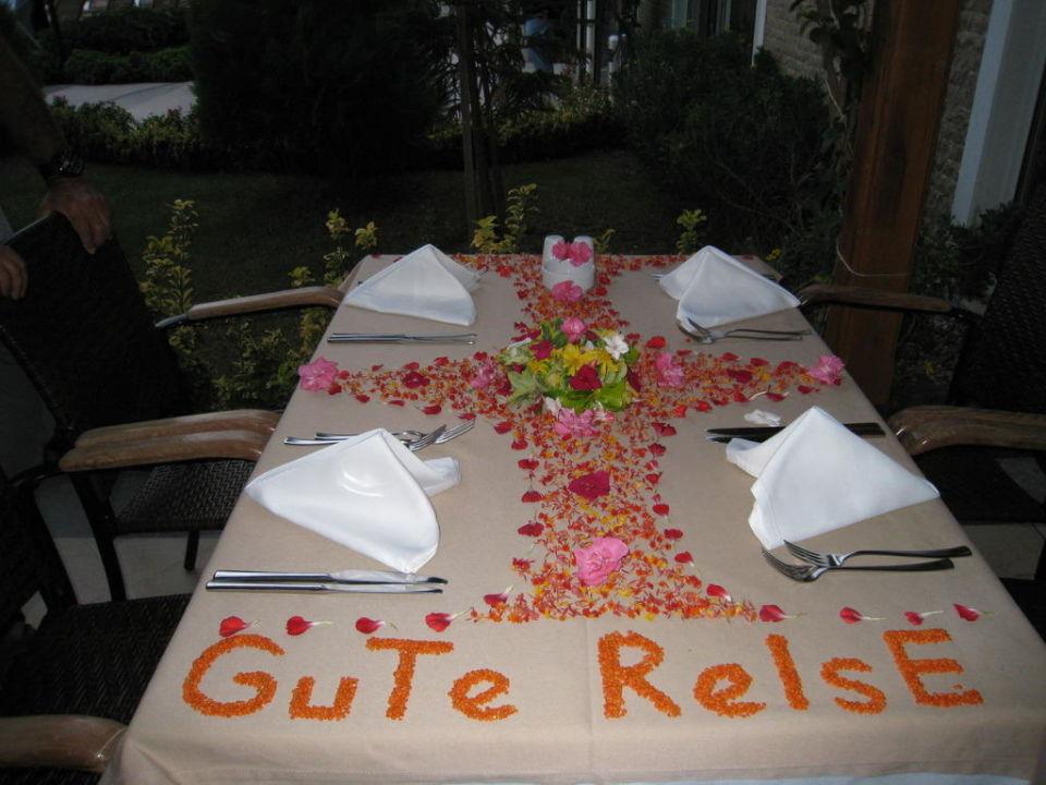 Abschied Hotel Adalya Resort & Spa