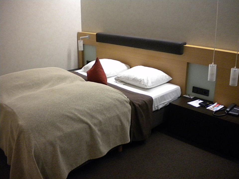 Angenehmes Bett Hotel Novotel Karlsruhe City