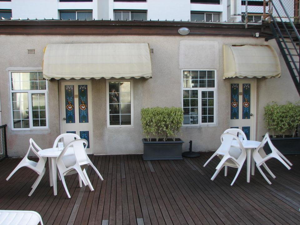 Dachterrasse Hotel Miss Maud
