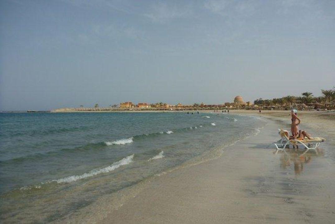 Strand Richtung Süden Malikia Resort Abu Dabbab