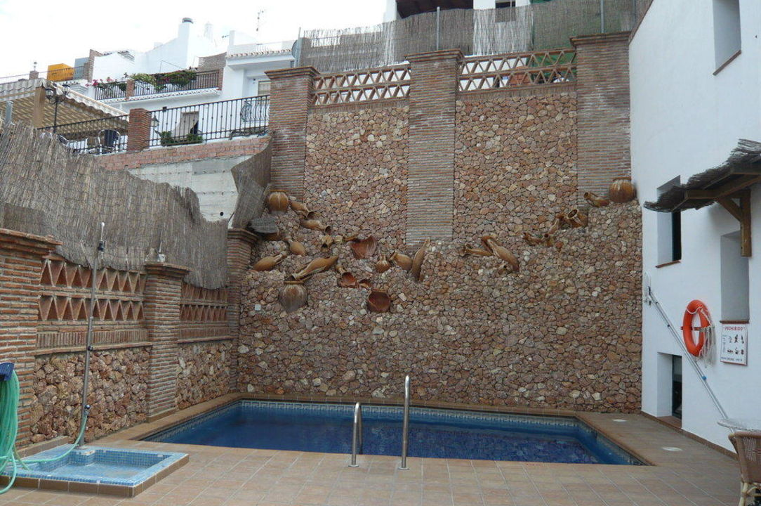 Pool & Sonnenterrasse Villa Frigiliana