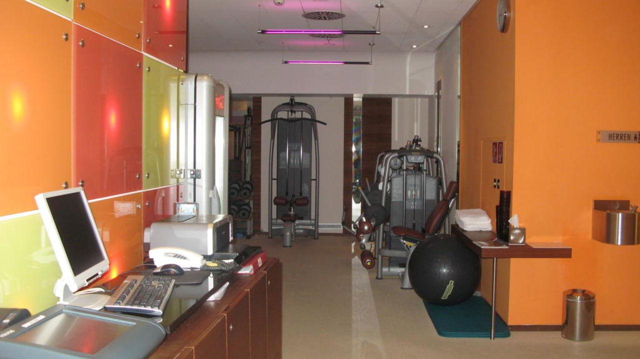 Fitnessraum Hotel Le Meridien Vienna