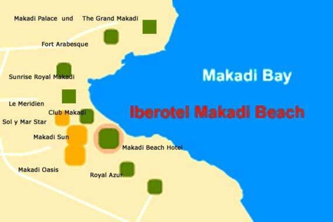 Lageplan The Grand Makadi Makadi Bay Holidaycheck Hurghada