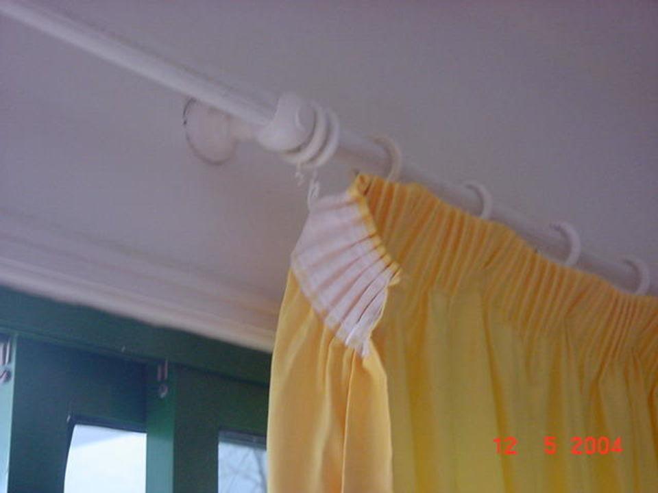 Beispiel der Gardinenbefestigungen Aparthotel Bitacora Lanzarote Club