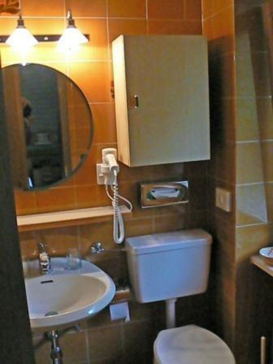 Das Badezimmer Wanderhotel Teiserhof