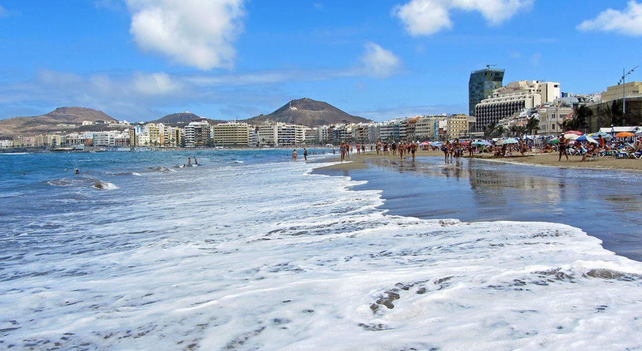 Aussicht Auf Hotel Umgebung Hotel Cristina Las Palmas Las Palmas